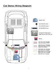 wiring diagrams car speaker amplifier amp for speakers fair