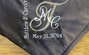 personalized wedding blankets wedding gifts wedding fairy tale