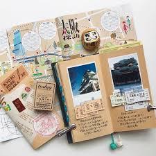 tagebuch selbst designen 25 einzigartige reisetagebuch ideen auf sammelalbum