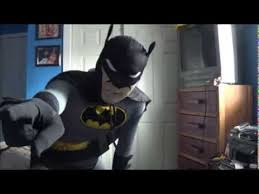 the batman morphsuit review youtube