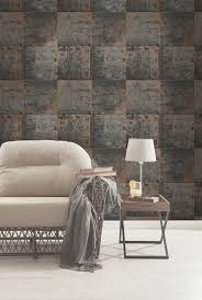 63 80 on clearance tranquil copper wallpaper by graham and brown