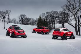 Nissan Rogue In Snow - nissan pathfinder murano and rogue get extreme snow transformations