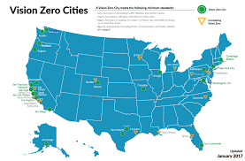 La Traffic Map Los Angeles Wants To End Traffic Deaths By 2025 Here U0027s How U2013 The