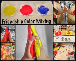 the simplicity of learning friendship color mixing