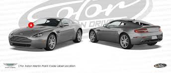 aston martin db6 touch up paint color n drive