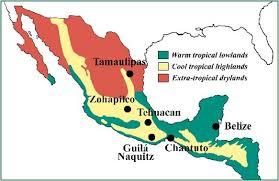 regions of mexico map central mexico disease geography ca 1880 brian altonen mph ms