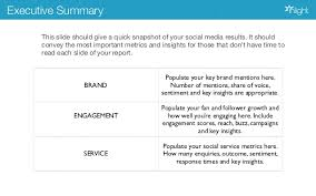 weekly social media report template how to create a winning social media report
