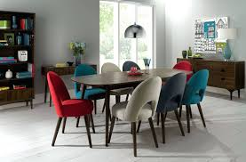 Colored Dining Room Chairs Dining Chairs Multi Colored Wood Dining Table Wondrous Multi