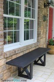 Diy Bench Seat Build A Bench Easy I Like Easy I Ended Up Using 2x4 U0027s For The
