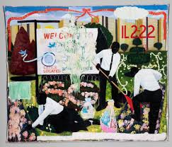 kerry james marshall u0027s paintings show what it means to be black in