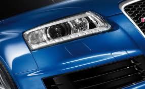 audi rs6 headlights audi a6 4f bi xenon headlights with led drls 2004 2011