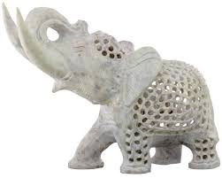 wholesale elephant figurine bulk buy hand carved soapstone