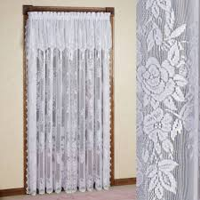 Priscilla Curtains With Attached Valance Attached Valance Sheer Curtains Singular Window Drapes And