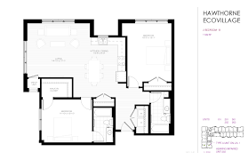 Sample Floor Plan Ecovillage Apartments
