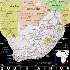 Map Of South Africa by Za South Africa Public Domain Maps By Pat The Free Open