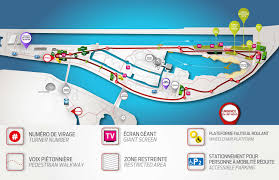 Canada French Speaking Map by Canadian Grand Prix Spectator Guide