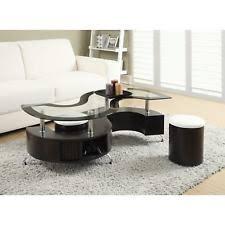 coaster company satin nickel coffee table coaster coffee table tables ebay