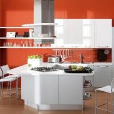 orange and white kitchen ideas impressive kitchen with orange color ideas for inspiring design