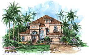 Spanish Home Plans Custom Home Plans On Unique Spanish Mediterranean Home Design
