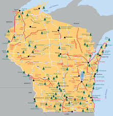 parks map find a state park forest recreation area or trail wisconsin dnr