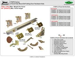 Closet Door Guide by Bifold Closet Doors Hardware Bracket Screws Roselawnlutheran