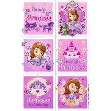 sophia the first coloring pages sofia the first 1st favor box 4 pack disney jr party stores
