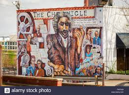 a wall mural on the theme of african american journalism and civil a wall mural on the theme of african american journalism and civil rights winston salem north carolina usa
