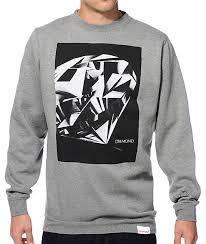 supply co sweaters supply co cut crew neck sweatshirt zumiez
