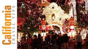 christmas lights riverside ca christmas light show mission inn festival of lights youtube