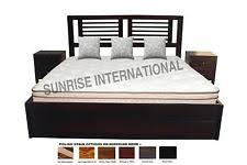 Size Double Bed New Wooden Indian King Size Double Bed With Storage Under The