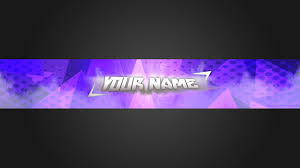 template youtube photoshop cc clean simple blue youtube banner template photoshop cs6 free