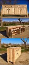 ingenious ways to repurpose old wood pallets pallet cabinet