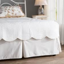Platform Bed Skirt - cottage u0026 country bed skirts you u0027ll love wayfair