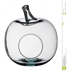decorative fruit bowl apple shaped glass bowl stock photo image 57175429