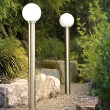 solar powered outdoor l post lights outdoor pole lights hommum com