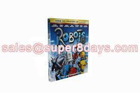 disney movies blu ray dvd robots 1bd 1dvd cartoon disney blue ray