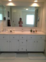 the big reveal master bathroom cabinets diy life is in details