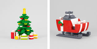 build it yourself lego ornaments by chris mcveigh