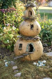 gourd fairy house i like to put little surprise features in the