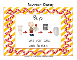 Hallway Pass Boys Bathroom Pass Images Reverse Search