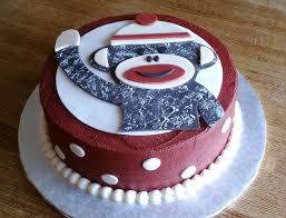 sock monkey birthday cake topper u2014 c bertha fashion easy sock