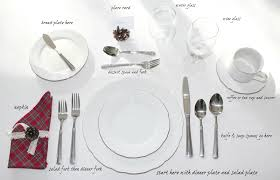 How To Set A Table For Dinner by How To Set A Table Printable Love My Simple Home