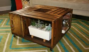 Wine Coffee Table Diy Wooden Wine Crate Coffee Table S Summit Lifestyle Magazine