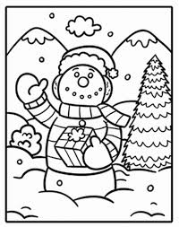 snowman coloring pages to print winter coloring pages of