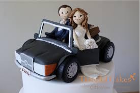 car cake toppers cakes by georgiou wedding cake decoration