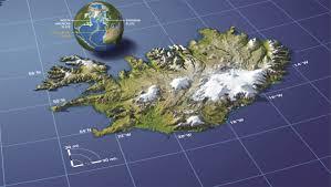 Iceland Map Location Mars Map