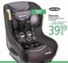 cora promotie siège auto maxim nania autostoel baby s