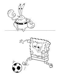 coloring page spongebob squarepants coloring pages 36