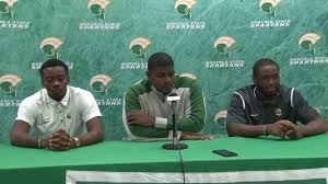 Football Conference Table Nsu Football Press Conference 10 18 2017 Youtube