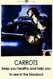 Urban Myth Kitchen - a wwii propaganda campaign popularized the myth that carrots help